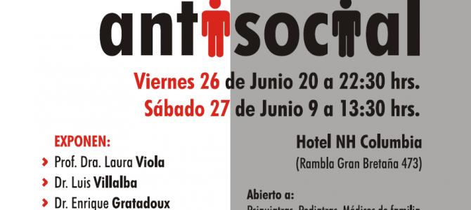 INSCRIPCIONES ABIERTAS Curso EMC   SPU – SUPIA: Desarrollo de la Personalidad Antisocial