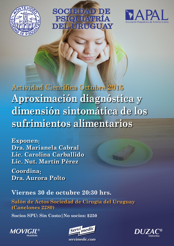 Afiche Act. trastorno alime