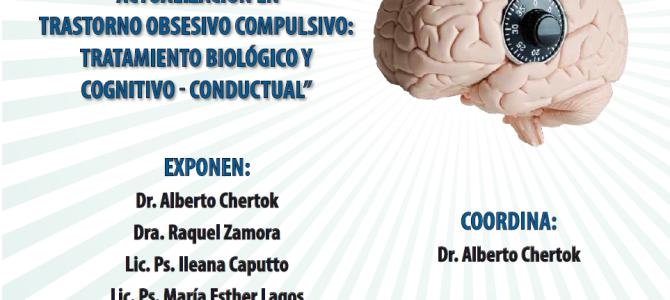 Inscripciones Abiertas Curso EMC: Actualización en Trastorno Obsesivo Compulsivo: tratamiento biológico y cognitivo – conductual