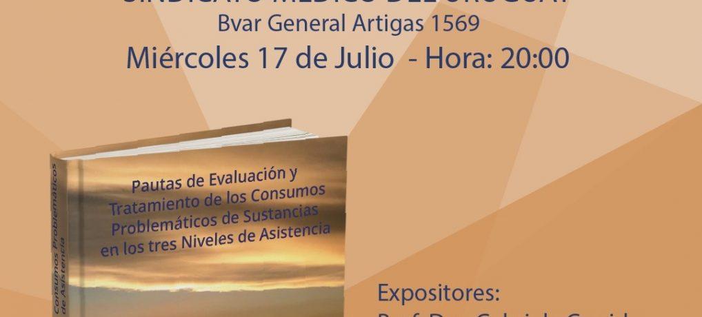 """Presentación de libro: """"Pautas de evaluación y tratamiento de los consumos problemáticos de sustancias"""""""
