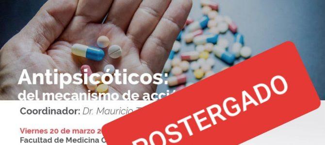 """POSTERGADO – Curso de EMC: """"Antipsicóticos: del mecanismo de acción a la clínica"""""""
