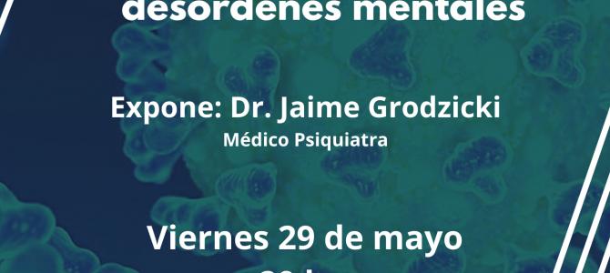 """Curso EMC: """"El impacto de la pandemia COVID 19 en pacientes con desórdenes mentales"""""""