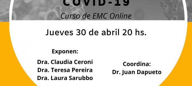 """Curso de EMC: """"Desafíos en psiquiatría en tiempos de Covid-19"""""""